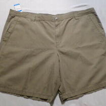 Nwt Mens Columbia Roc Ii Khaki Shorts Sz 54 Photo