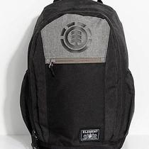 Nwt Mens Element Sparker Black Gray Laptop Backpack School Book Travel Pack Bag Photo