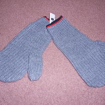 Nwt Mens Gap Gray  Wool Blend Mittens Gloves Small Photo