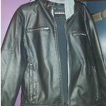 Nwt Mens Guess Bomber Jacket Photo