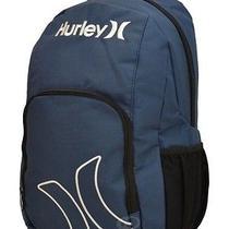 Nwt Mens Hurley Navy Blue Logo School Backpack New Free Ship Photo