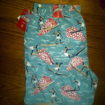 Nwt Mens Izod Aqua Surfboard Pattern Swim Trunks Xl Photo
