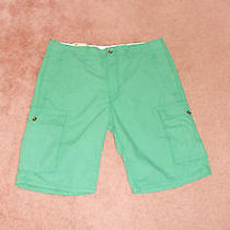 Nwt Mens Levis Green Ripstop Cargo Shorts 32 Photo