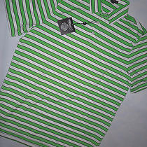 Nwt Mens Ralph Lauren Rlx Golf   Polo Style Shirt   Large Stripe  W/  Rlx Name Photo