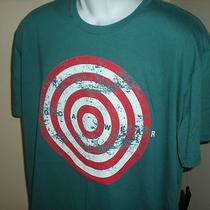 Nwt Mens Rocawear Designer T Shirt Blue Green Xl Photo