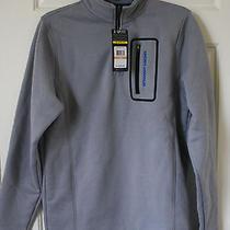 Nwt Mens Under Armour Ua Extreme Coldgear Lite Fleece 1/4 Zip Jacket Black Gray Photo