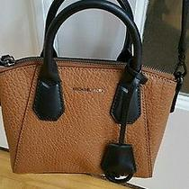 Nwt Michael Kors Campbell Walnut Brown Satchel Cross Body Bag 228 Retail Photo