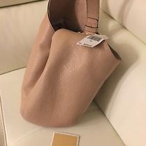 Nwt Michael Kors Fulton Blush Lg Slouchy Shoulder Hobo Women's Handbag 328 Photo