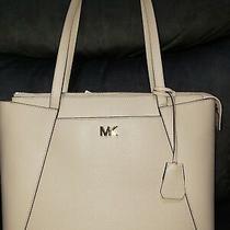 Nwt Michael Kors Maddie Soft Pink Leather Rose Gold Hw Satchel Shoulder Tote Bag Photo