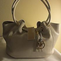 Nwt Michael Kors  Ring Tote Shoulder Bag  Vanilla   Msrp  258 Photo