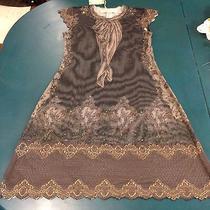 Nwt Michal Negrin 3pc Slip Dress & Slip/blouse Set Swarovski Crystals  Sz Sm Photo