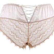 Nwt Mimi Holliday Bisou Bisou Brulee Corset Knicker Xs Champagne Photo