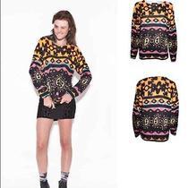 Nwt Minkpink Street Art Sweater Sz Xs Photo