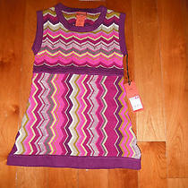 Nwt Missoni Girl Dress Size Xs So Cute & Trendy Photo
