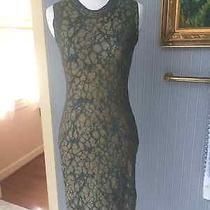 Nwt Missoni It 40 Us 2 or 4 Sheath Dress Green Taupe Gold Metallic Photo