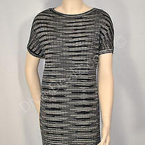 Nwt Missoni Sweater Dress Sheath Striped Zigzag 44 8 10 M Fun Fun Photo