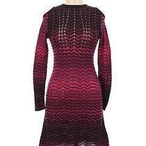 Nwt Missoni Women Pink Casual Dress 38 Eur Photo