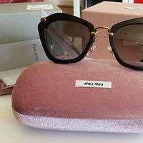 Nwt Miu Miu Prada Sunglasses 10ns 1ab3m1  Photo