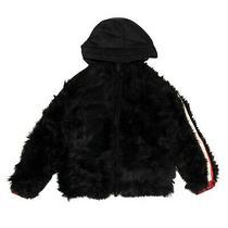 Nwt Moncler Black Hooded Zip Up Jacket Size Xs 1290 Photo