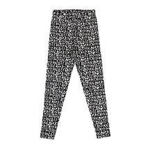 Nwt Moncler Black/white Pantalone Tricot Leggings Pants Size Xs 500 Photo