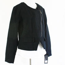 Nwt Mossimo Black Moto Modern Blazer Photo