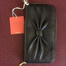 Nwt Mossimo Black Wallet Wristlet Iphone 6 Photo