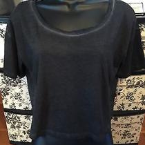 Nwt Mossimo Cropped Heathered Junior's Gray Tee Size M Photo