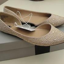 Nwt Mossimo Elsie d'orsay Flats Blush Taupe Tan Pointed Toe Size 6.5 Photo