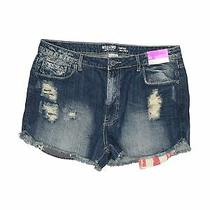 Nwt Mossimo Supply Co. Women Blue Denim Shorts 15 Photo