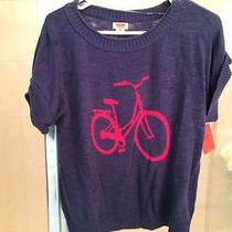 Nwt- Mossimo Sweater Bike Shirt/top - Sz S Photo