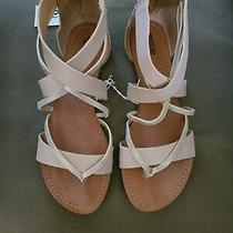 Nwt Mossimo Women's Sandals Size 8.5 Light Pink/rose Gold  Photo