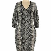 Nwt Nanette Nanette Lepore Women Black Casual Dress L Photo