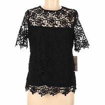 Nwt Nanette Nanette Lepore Women Black Short Sleeve Blouse M Photo