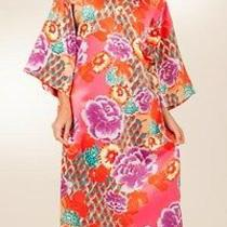 Nwt Natori Long Caftan - Imperial Garden - Size Medium -New Photo