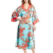 Nwt Natori Long Caftan - Sunset Blossom - Size Small -New Photo