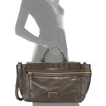 Nwt New 698 Marc Marc Jacobs Leather Large Third Rail Tote Martini Brown Olive Photo