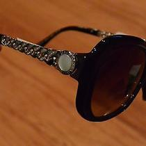 Nwt New Authentic Bvlgari Bulgari Sunglasses With Mother of Pearl Msrp 450 Photo