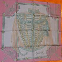 Nwt New Authentic Hermes 100% Silk Scarf 90cms Msrp 455 Photo