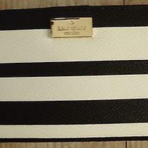 Nwt New Authentic Kate Spade Stacy Arbour Hill Wallet  Black / White  119.00 Photo