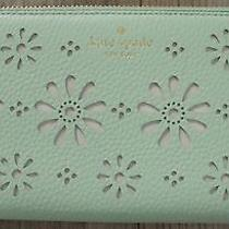 Nwt New Authentic Kate Spade Wallet Megan Faye Drive Mintsplash  189.00 Photo