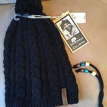 Nwt New Billabong Black Beanie Hat - Acrylic Photo