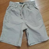 Nwt New Boy Size 4 Years Baby Gap Khaki Shorts Photo