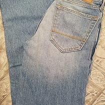 Nwt New Boys 12 Slim Classic Straight Boot Cut Abercrombie Kids Denim Jeans  Photo