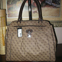 Nwt New Collection Guess Marciano Handbag  Rekka Ladies 4g Logo Carryall Purse  Photo