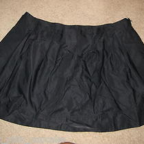 Nwt New Express Black Pleated Lined Mini Short Skirt 10 Trendy Cute Rare Sexy Photo