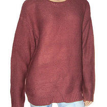 Nwt New Forever 21 Plus Mauve Blush Classic Popcorn Knit Crewneck Sweater Sz 1x Photo