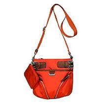 Nwt New Franco Sarto Orange Deeley Crossbody Shoulder Bag With Small Wallet Photo