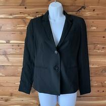 Nwt New Gap Womens Size 0 Black Blazer Jacket Lined Work 98 Photo