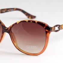 Nwt New Guess Women's Sunglasses Gu 7040 Tortoise 60-14-130 W/ Case Photo