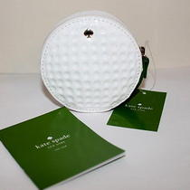 Nwt New Kate Spade Golf Ball Coin Purse Golfer Gift Wallet Small Bag Photo